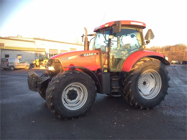 Used Case IH MAXXUM 140 TRAKTOR tractors Year: 2010 Price: $46,545 for sale - Mascus USA