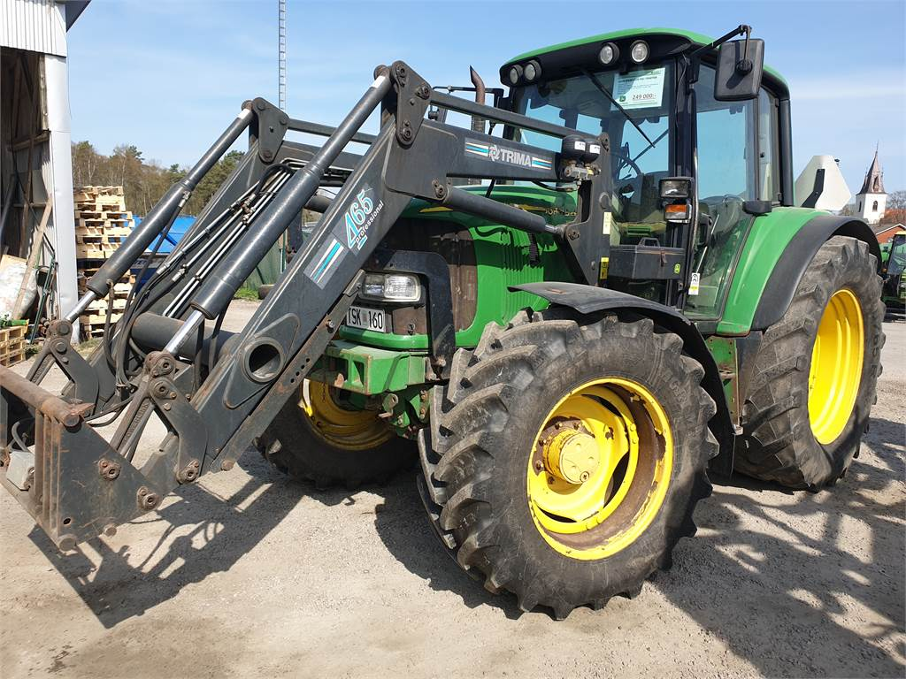 used john deere 6320 traktor tractors year 2003 price. Black Bedroom Furniture Sets. Home Design Ideas