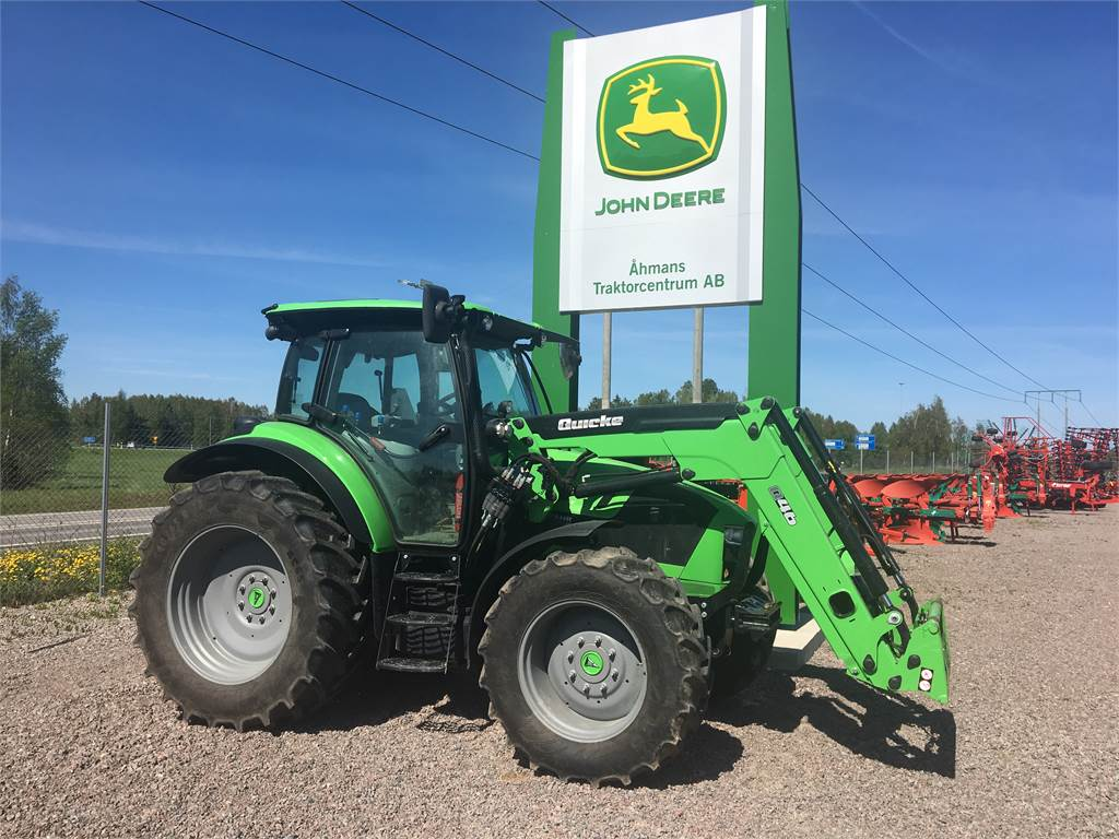 Used Tractor Tires For Sale >> Used Deutz-fahr 5130 TTV tractors Year: 2016 Price: US$ 73,573 for sale - Mascus USA