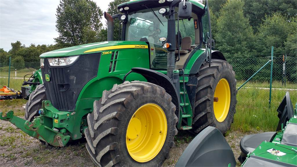 used john deere 7280r ap traktor fr lyft pto tractors year. Black Bedroom Furniture Sets. Home Design Ideas