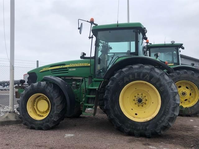john deere 7820 ap traktor gebrauchte traktoren gebraucht kaufen und verkaufen bei. Black Bedroom Furniture Sets. Home Design Ideas