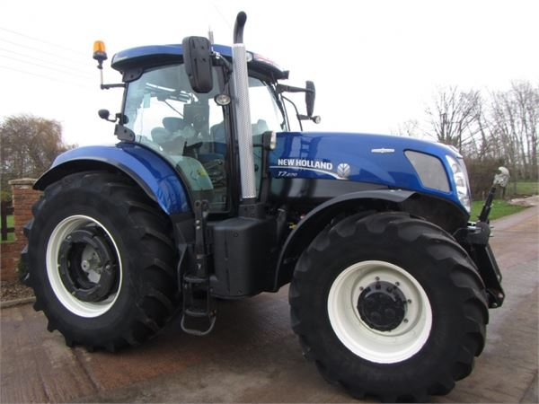 Blue Holland Tractors : New holland t blue power year tractors id