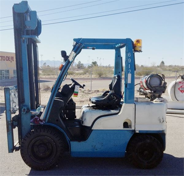 Nissan UGL02A30D - LPG Forklifts, Year of manufacture ...