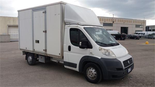 fiat ducato maxi 160 multijet furgonato baujahr 2007 lieferwagen gebraucht kaufen und. Black Bedroom Furniture Sets. Home Design Ideas