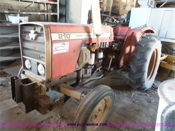 Massey Ferguson 210 Tractor : Purchase massey ferguson tractors bid buy on