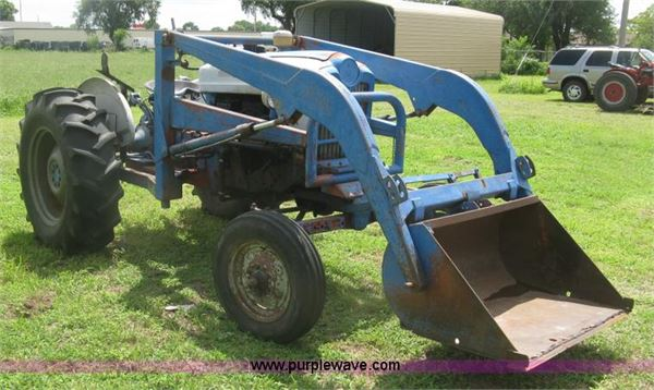 Ford 901 Diesel Tractor : Purchase ford powermaster tractors bid buy on