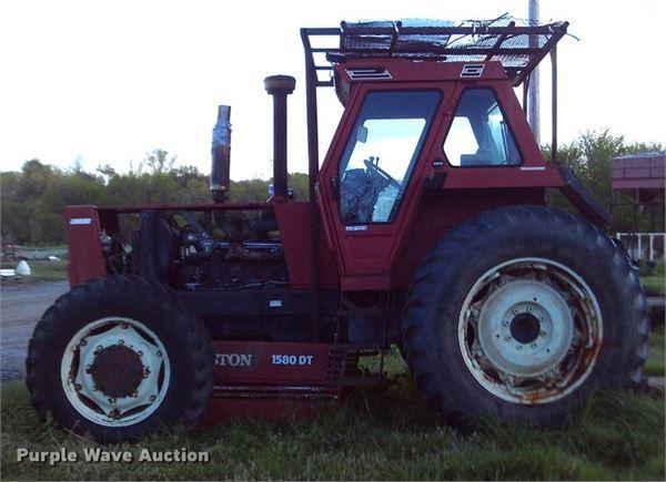 Fiat Hesston Tractors Farm : Purchase fiat hesston dt tractors bid buy on