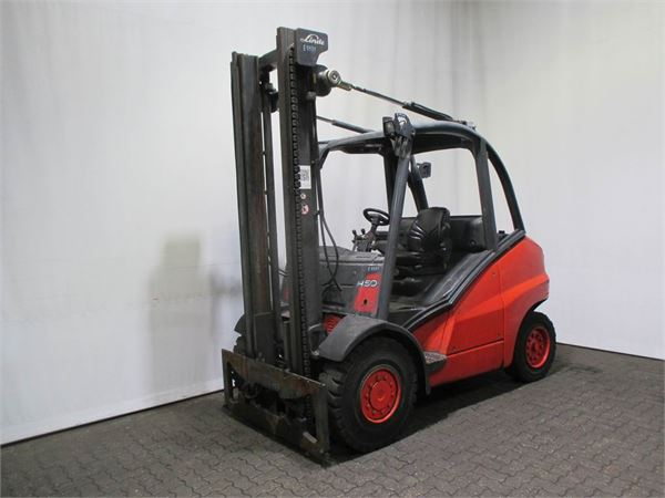 used linde h 50 d 394 diesel forklifts year 2007 price 12 070 for sale mascus usa. Black Bedroom Furniture Sets. Home Design Ideas
