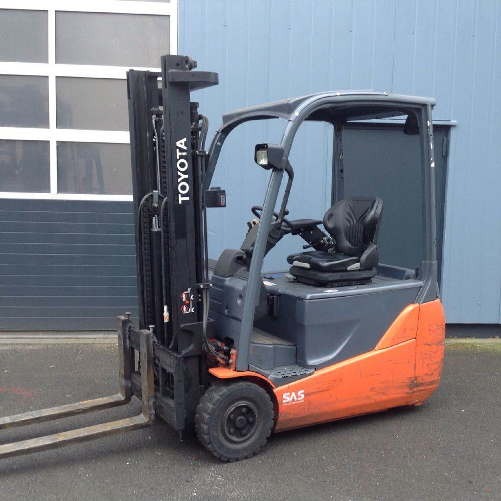 Used Toyota 8 Fbet 16 Electric Forklift Trucks Year 2011