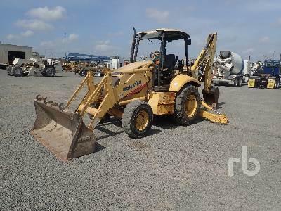 Purchase Komatsu WB140-2 backhoe loaders, Bid & Buy on Auction