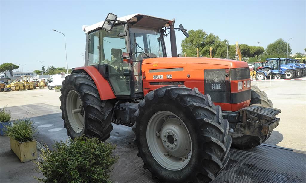 Same silver 160 dt agricoltura roma prezzo anno for Romana diesel trattori usati