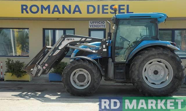 Landini powermondial 115 c front agricoltura roma prezzo for Romana diesel trattori usati
