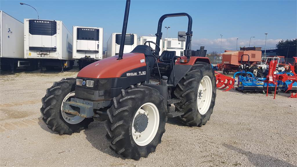 New holland agricolt tl 90 dt rops agricoltura frosinone for Romana diesel trattori usati