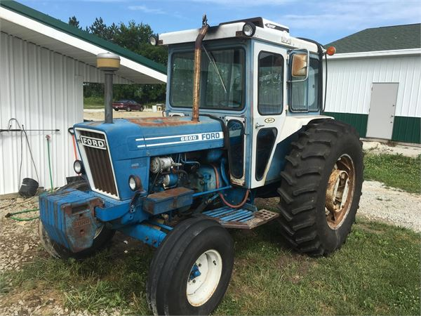 Ford 6600 Tractor : Ford for sale wabash indiana price  year