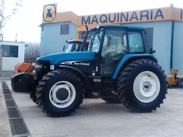 new holland tm165 preis baujahr 2006 gebrauchte traktoren gebraucht kaufen und. Black Bedroom Furniture Sets. Home Design Ideas