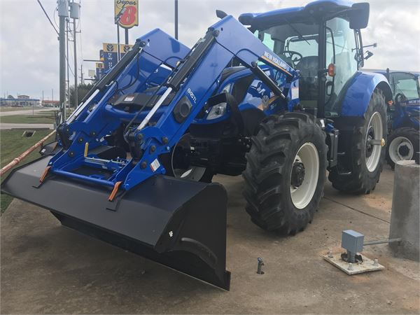New Holland T6 145 For Sale Sealy Texas Price 102 300