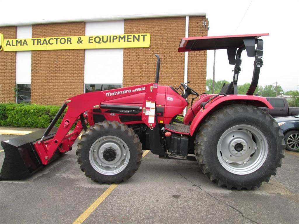 Mahindra Mpower 75 Tractors Year Of Manufacture 2016
