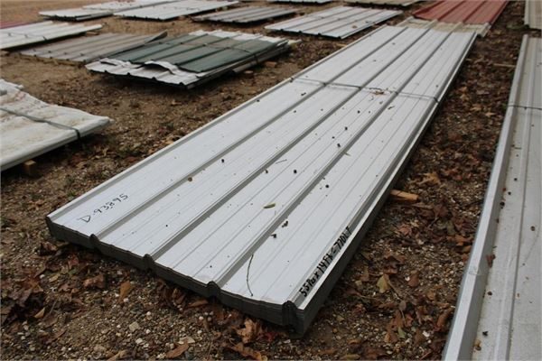 Lot Of 55pcs 770lf 14 Metal Roofing Siding For Sale