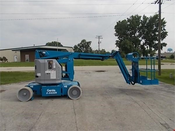 Articulating Arm Hoist : Genie z n for sale clarence new york year