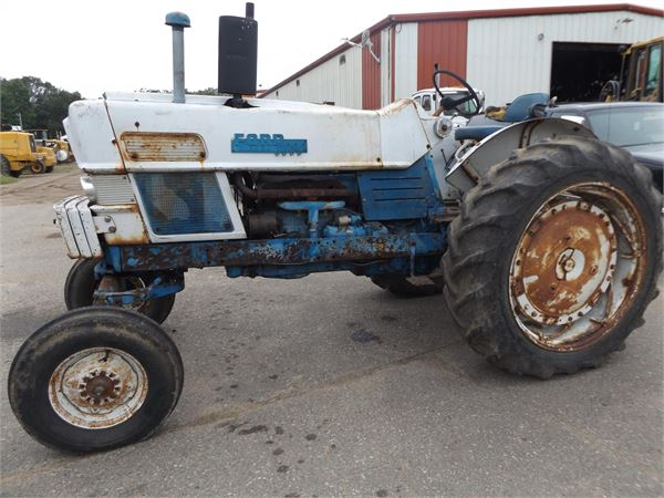Ford 6000 Diesel Tractor : Ford tractors id e a mascus usa