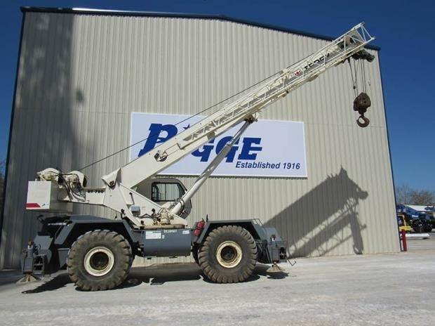 Used Jib Cranes Houston : Terex rt for sale houston texas price year