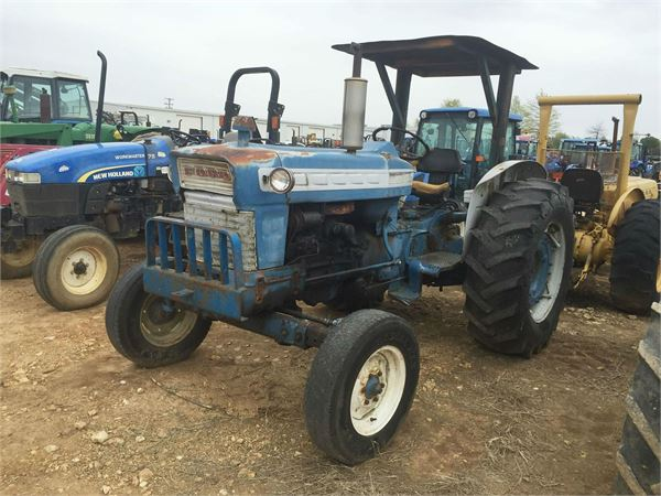 1968 Ford 2000 Diesel Tractor : Ford year tractors id fed mascus usa