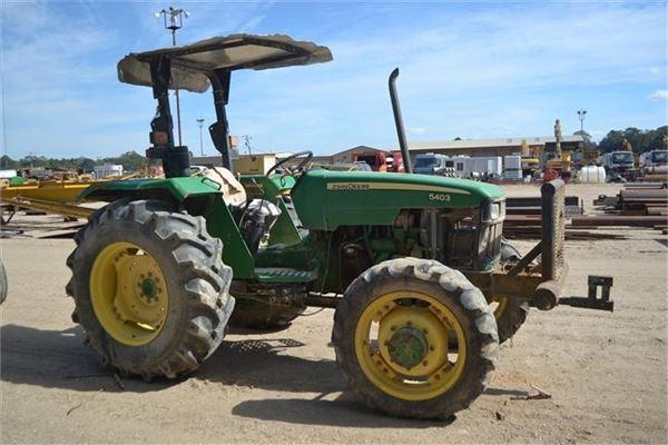 John Deere 5403 Tractor 4x4 : John deere tractors id mascus usa