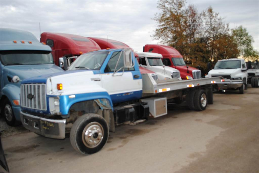 chevrolet kodiak c6500 occasion prix 8 129 ann e d 39 immatriculation 1993 camion d pannage. Black Bedroom Furniture Sets. Home Design Ideas