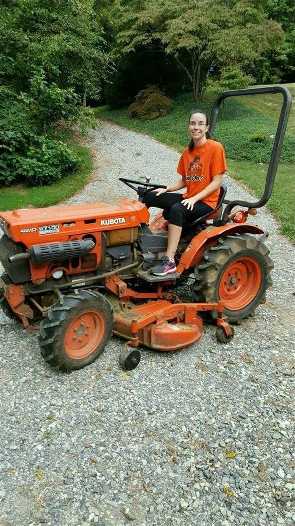 Kubota B7100 Backhoe : Kubota b tractors id e fc mascus usa