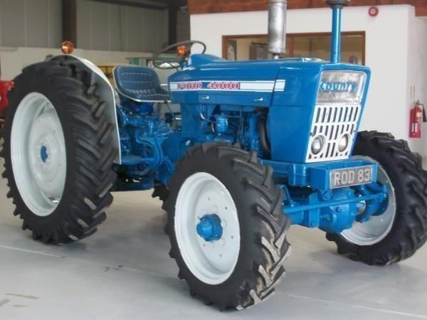 Ford 4000 Tractor : Ford liskeard england tractors year of manufacture