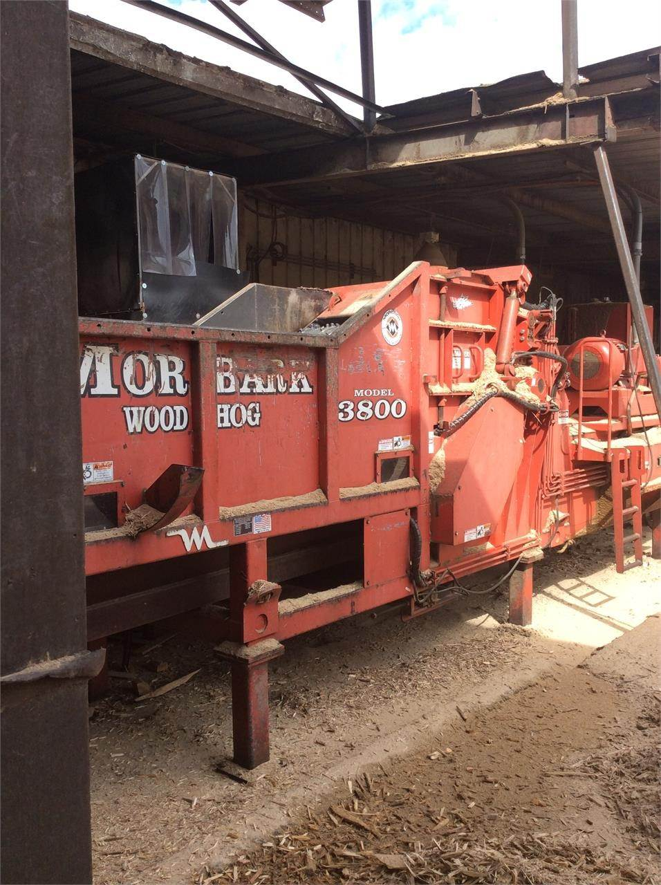 Morbark 3800 occasion prix 165 755 ann e d - Location broyeur forestier ...