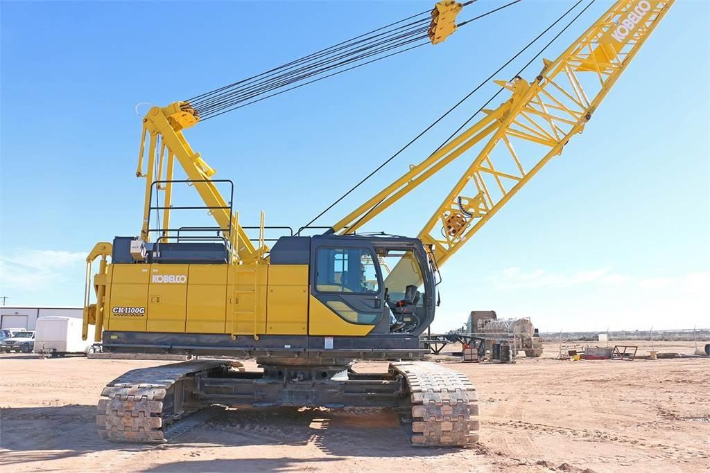 Used Jib Cranes Houston : Kobelco ck g for sale houston texas year