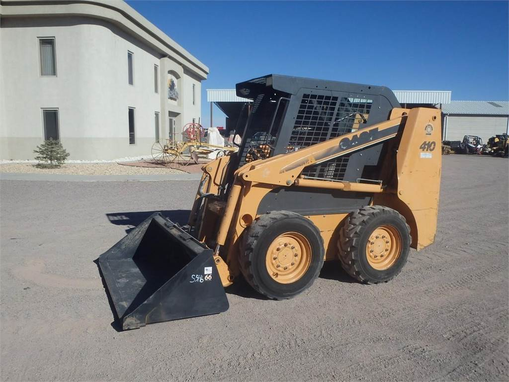 used case 410 skid steer loaders year  2005 price   18 250