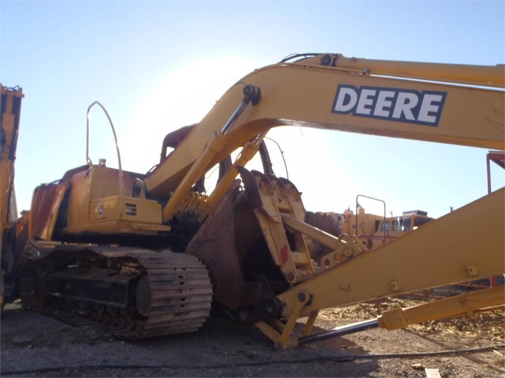 used john deere 160 lc crawler excavators year  2003 for
