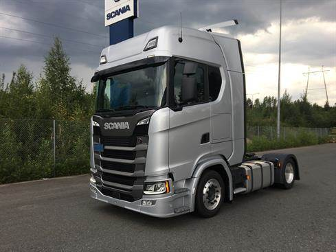 scania s500 occasion ann e d 39 immatriculation 2018 tracteur routier scania s500 vendre. Black Bedroom Furniture Sets. Home Design Ideas