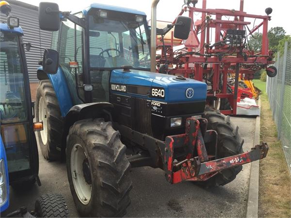 6640 Ford Tractor : Used ford new holland sle tractors year price
