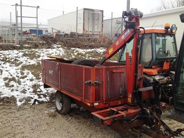 HT 2 tons med kran til salg Roskilde Pris: kr. 24.000 - Brugte HT 2 tons med kran Tipvogne ...