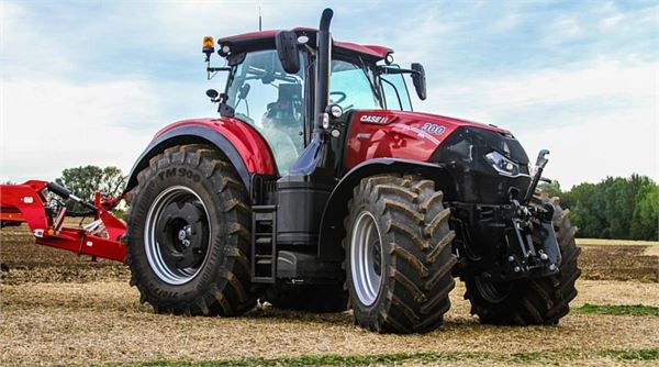 Used Case IH OPTUM 300 CVX tractors Year: 2017 for sale ...