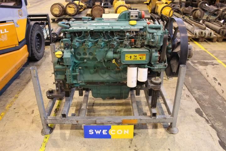 Volvo Ew160b Motor Komplett Rak Typ Til Salg Pris Kr
