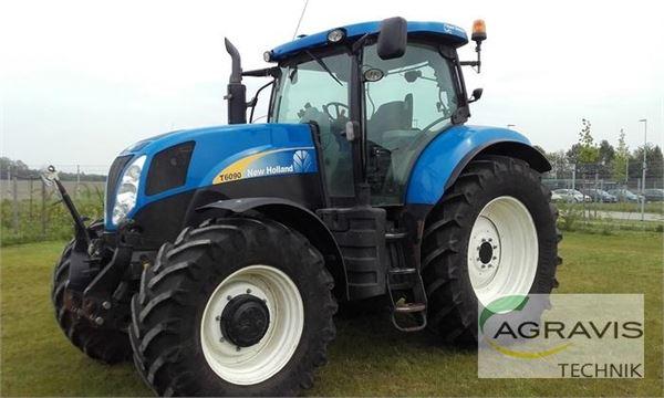 new holland t 6090 pc preis baujahr 2011 gebrauchte traktoren gebraucht kaufen. Black Bedroom Furniture Sets. Home Design Ideas