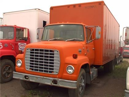 Used Ford S A 24 Ft Van Truck Box Trucks Year 1980 Price