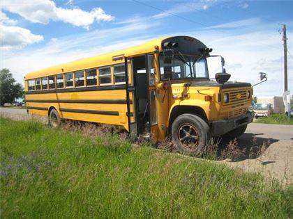 gmc 6000 s a 54 passenger school bus occasion prix 3 230 ann e d 39 immatriculation 1990. Black Bedroom Furniture Sets. Home Design Ideas