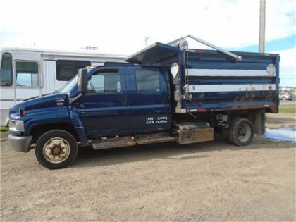 used gmc c4500 s a crew cab dump truck dump trucks year 2004 price 12 723 for sale mascus usa. Black Bedroom Furniture Sets. Home Design Ideas
