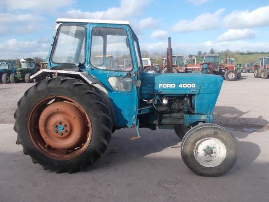 1975 Ford 4000 Tractor : Ford tractors price £ year of manufacture