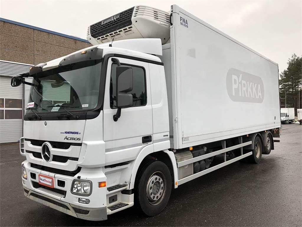 mercedes benz actros occasion prix 49 900 ann e d 39 immatriculation 2012 camion. Black Bedroom Furniture Sets. Home Design Ideas