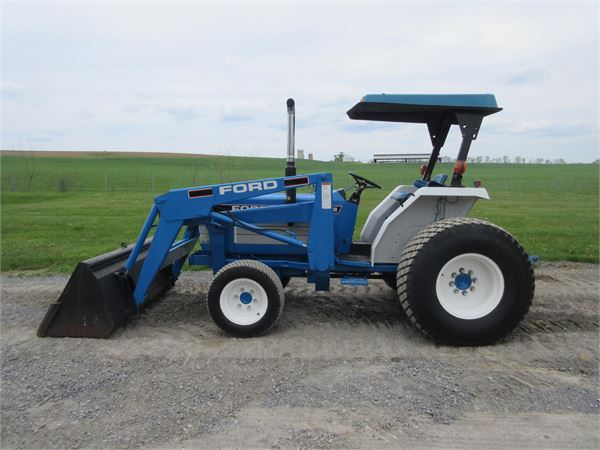 Ford 2120 Tractor : Ford year tractors id f b mascus usa