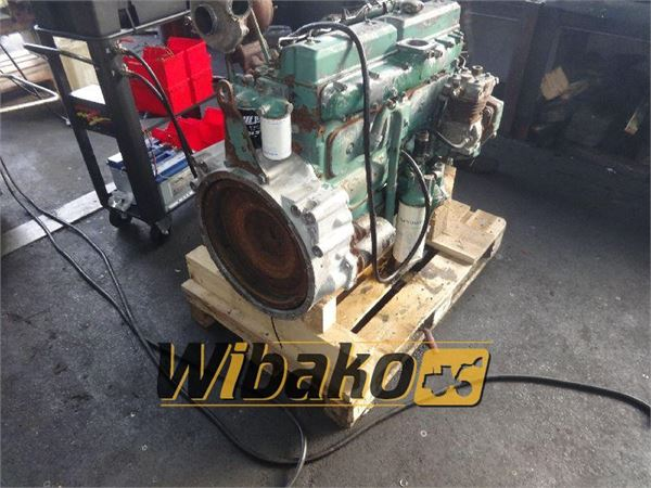 Used volvo engine for volvo ew200 other components for for Volvo motors for sale